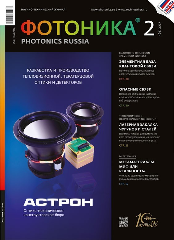 Научная сессия ОФН РАН «ФОТОНИКА: фундаментальные аспекты и практические приложения»