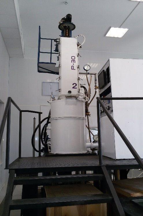 Установка для выращивания монокристаллов оптического германия