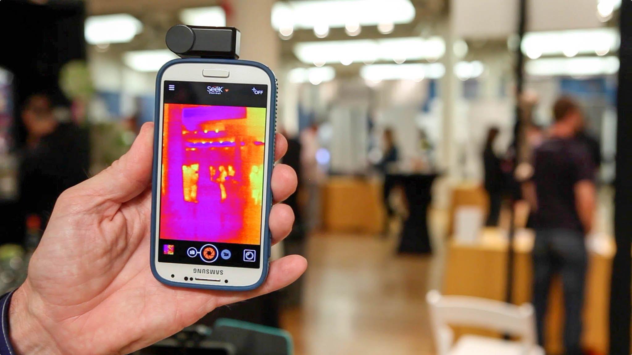 Профессиональный смартфон с ИК-камерой