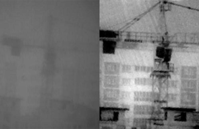 Камера видимого диапазона и камера SWIR-диапазона