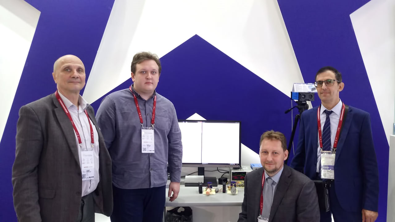 Employees of ASTROHN Technology Ltd. with our stand visitors