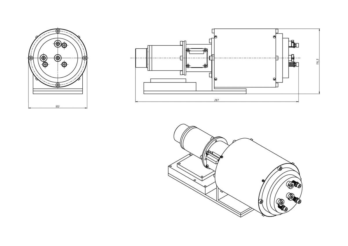 Камера гиперспектральная ОЛ-ГСК-103
